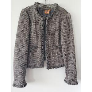 Tory Burch Tweed Jacket Size 12